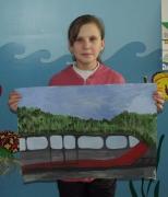 Янсон Евгения, поезд Жигалово - Москва, 11 лет