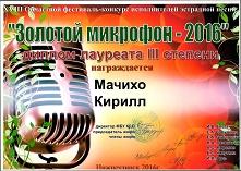 В Нижнеудинске состоялся XVIII областной фестиваль-конкурс исполнителей эстрадной песни «Золотой микрофон - 2016»