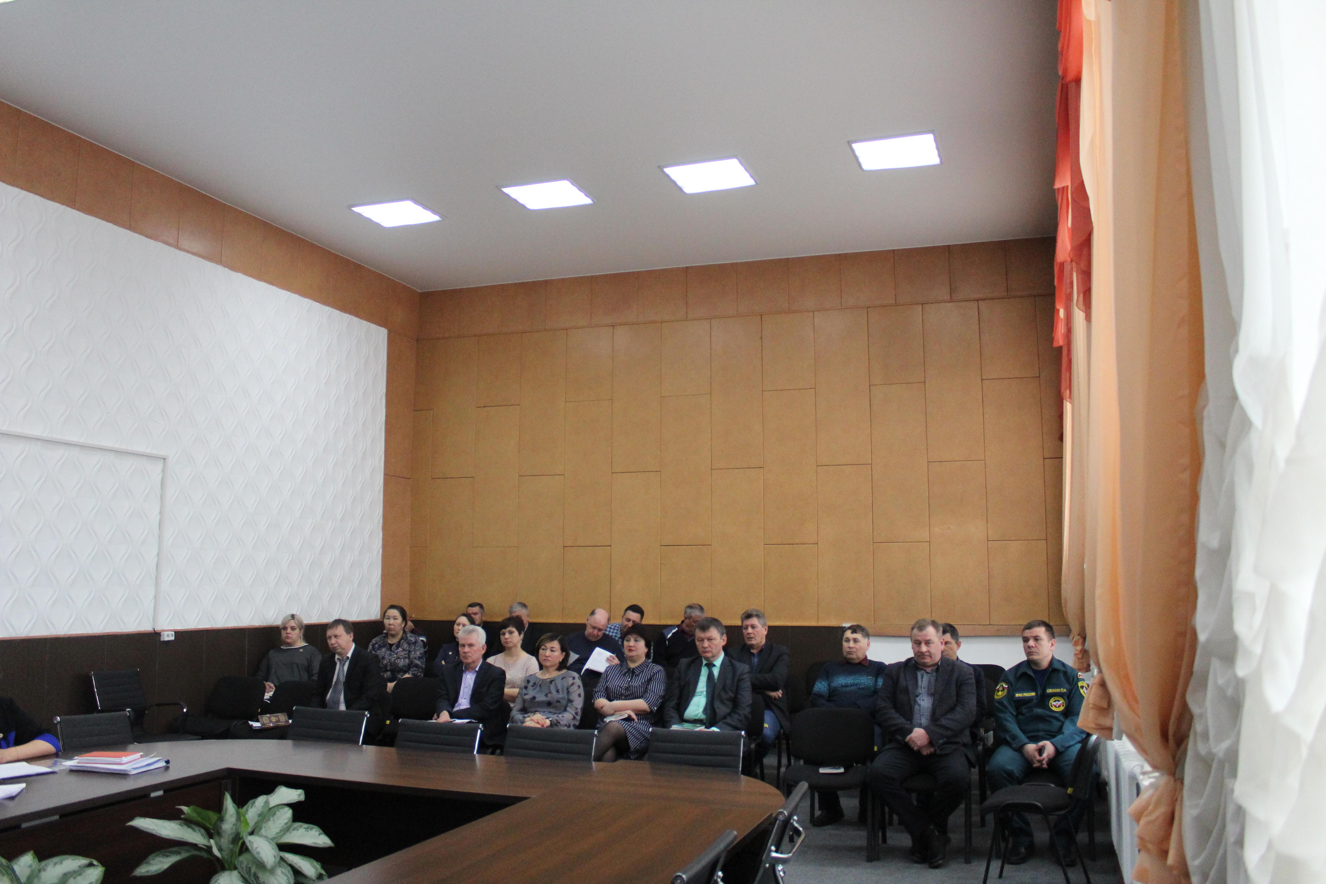 Заседание Комиссии по предупреждению и ликвидации чрезвычайных ситуаций и обеспечению пожарной безопасности МО «Качугский район»