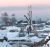 На строительстве моста в Октябрьском завершается русловой цикл работ