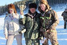 Соревнования по подледной рыбалке