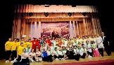 Участники третьего областного фестиваля групп оздоровительной гимнастики ветеранских организаций
