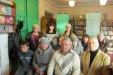 В. Корнилов и В. Скурихин на встрече с жителями п. Ершово