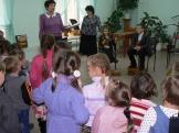 мастер-класс от юных музыкантов (учебный корпус п.Железнодорожный)