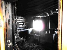 «Сообщает служба 01»  В марте на пожаре в п. Игнино погиб человек.