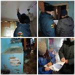 Пожарные извещатели установили многодетным и семьям в социально-опасном положении