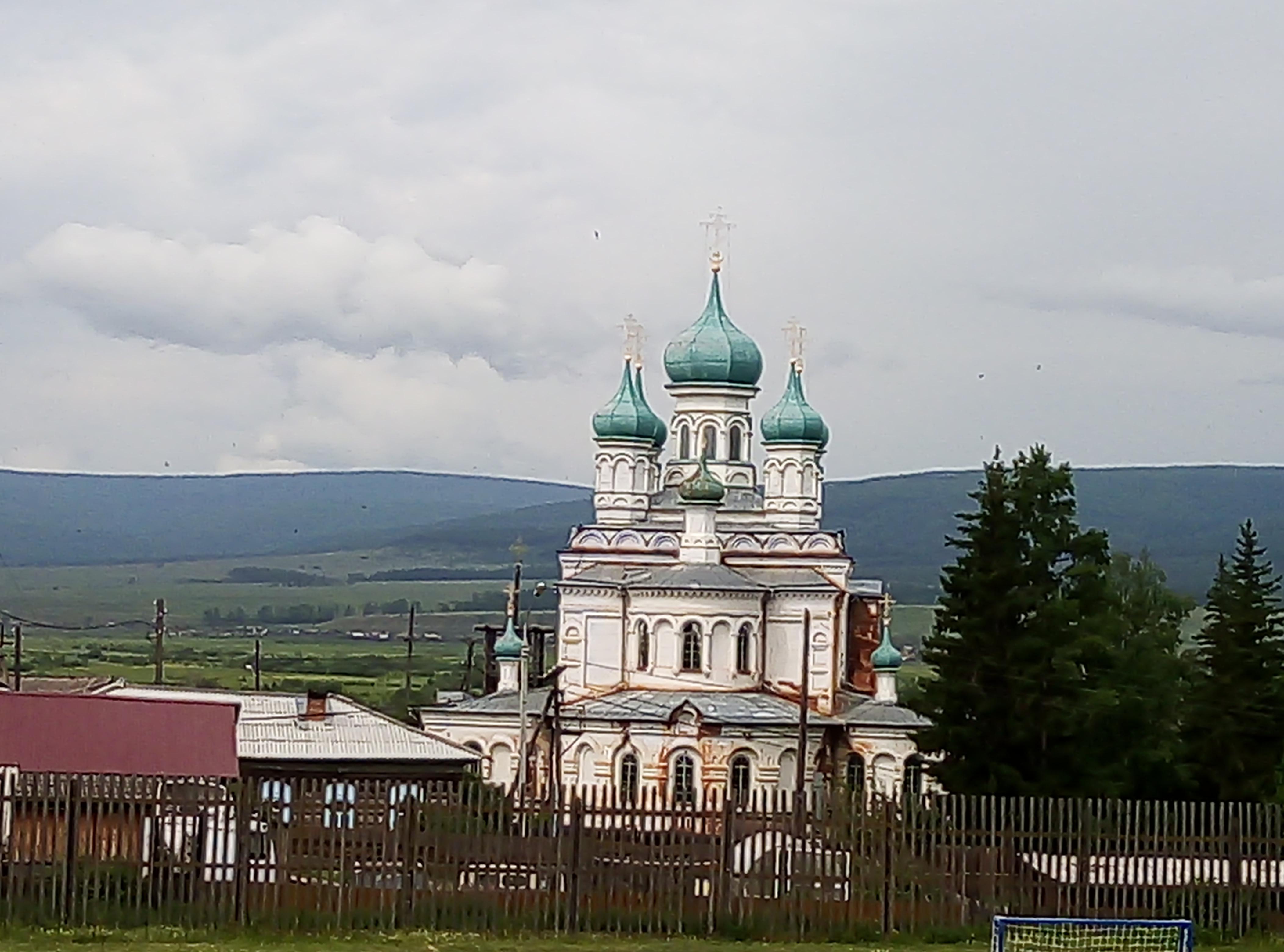 Реставрация Воскресенского собора в селе Верхоленск