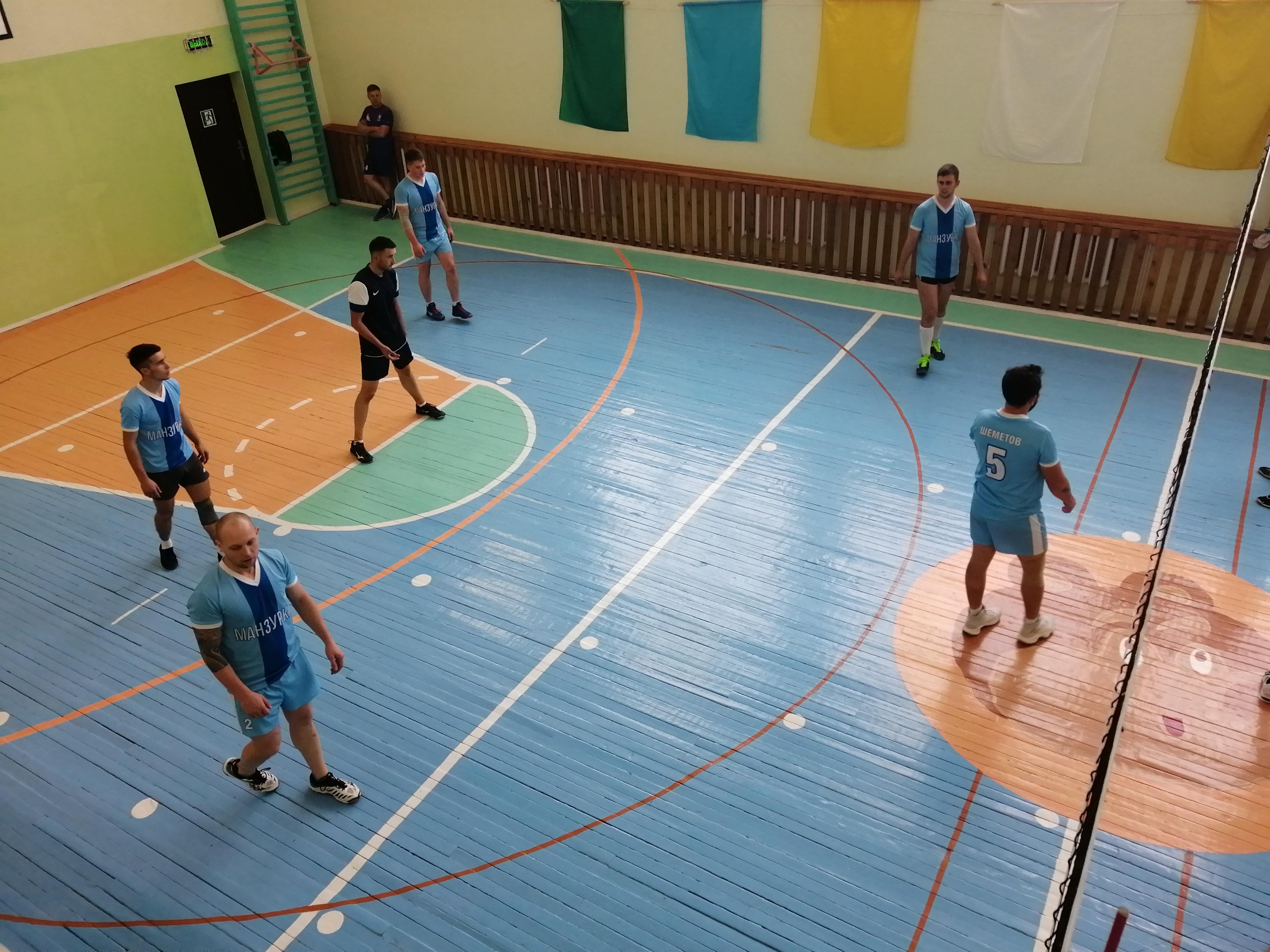 Праздник спорта состоялся в Манзурке