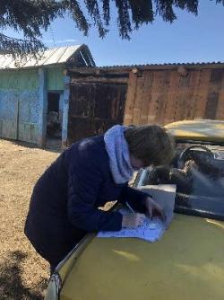 Рейд на территории Парфеновского муниципального образования