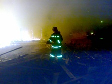 На пожаре в п.Куйтун погибли иностранные граждане
