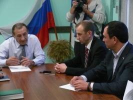Сергей Тен посетил Тайшетский район