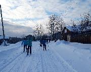 Лыжные гонки в Эдучанке