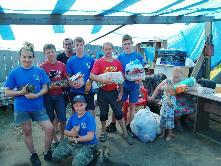 Куйтунский район принял самое активное участие в сборе гуманитарной помощи для пострадавших при подтоплении в Тулуне.