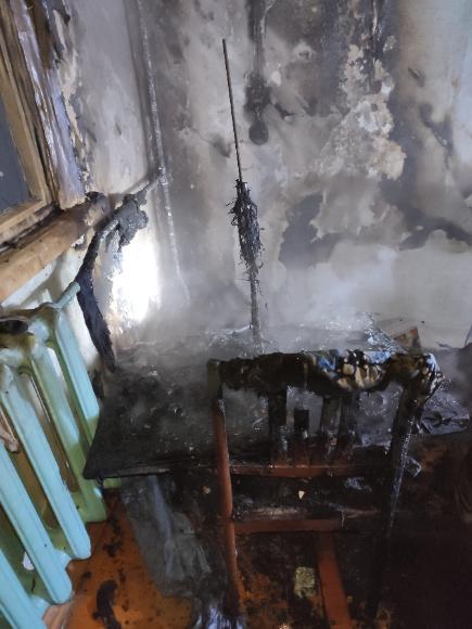 На территории Мамско-Чуйского района впервые с 2016г. произошла гибель на пожаре!