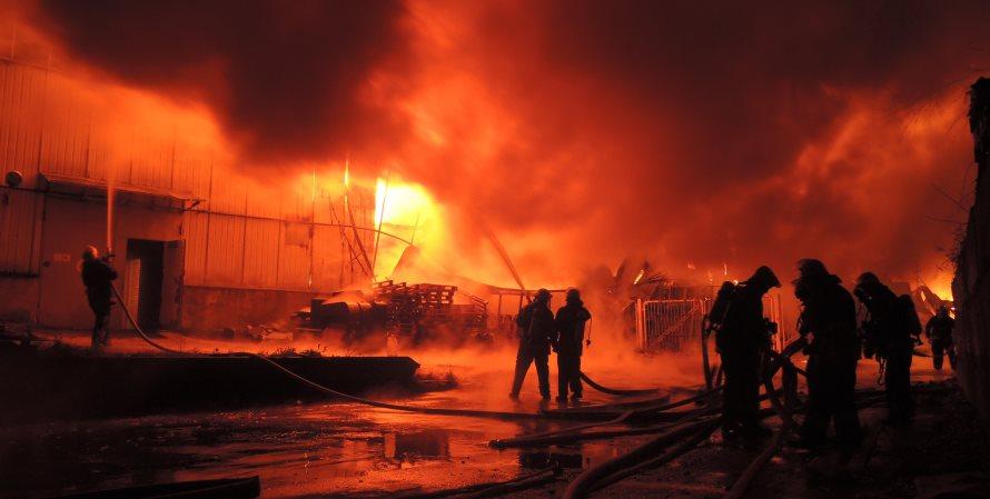 В Изыкане сгорело лесное предприятие