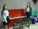 Маркатюк Анастасия, Качуренко Ирина готовятся к выступлению