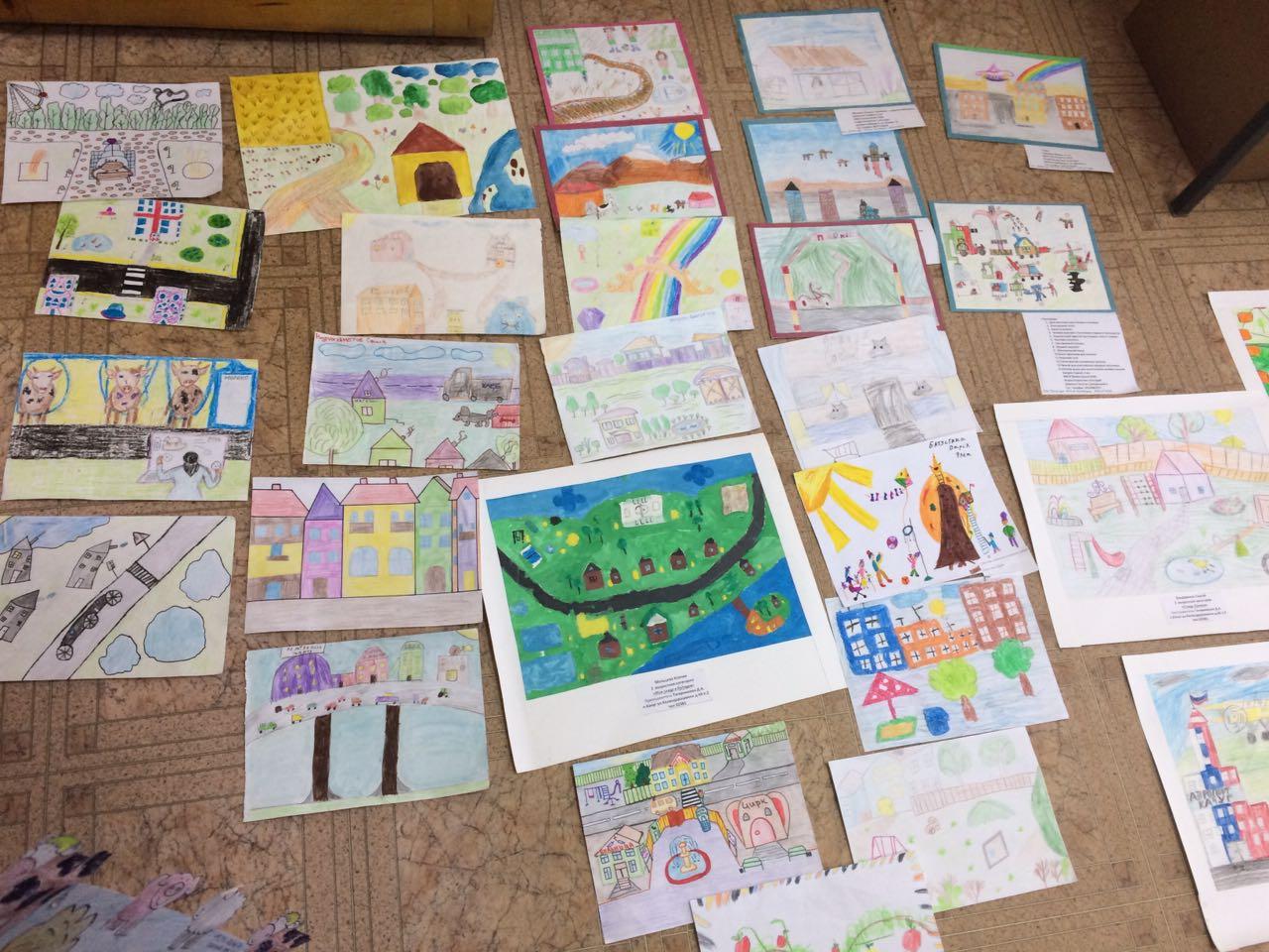 Подведены итоги районного конкурса рисунков «Село будущего глазами ребенка»