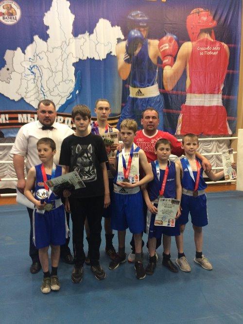 Наши боксеры взяли призы на областном турнире