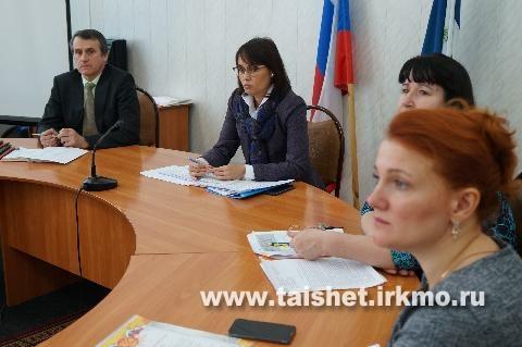 На территории Тайшетского района работают представители министерства культуры, архивов и спорта Иркутской области