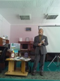 Писатель А.Г.Байбородин рассказывает о своем творчестве