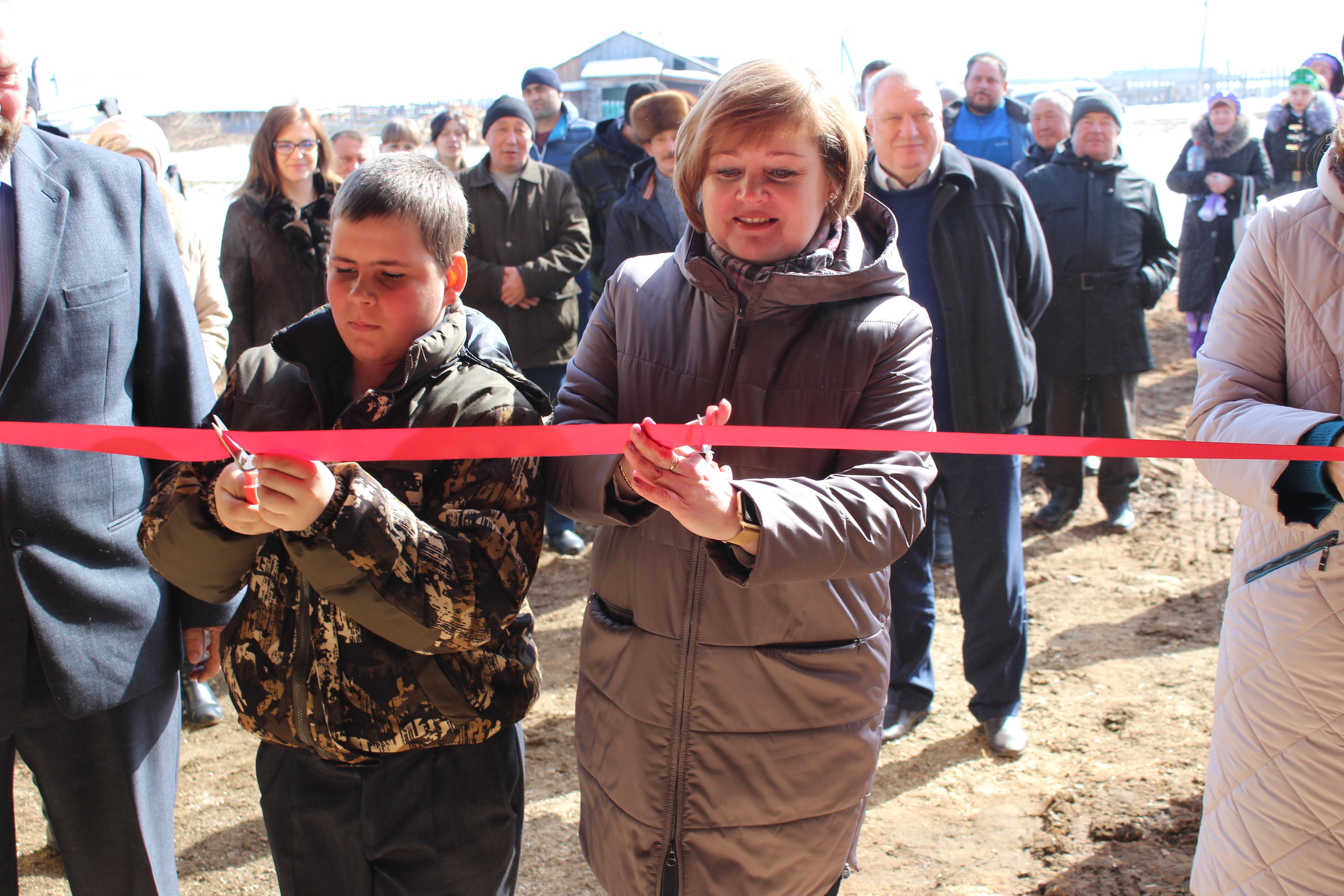 В Качугском районе построена первая современная молочная животноводческая ферма!