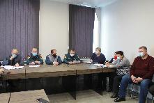 14 января 2021 года под председательством заместителя мэра Куйтунского района по вопросам жизнеобеспечения состоялось заседание комиссии по предупреждению и ликвидации чрезвычайных ситуаций и обеспечению пожарной безопасности