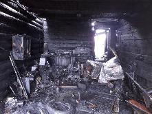 «Сообщает служба 01» Основная причина пожаров в сентябре - поджог.