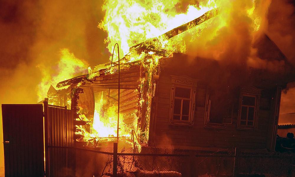 На территории области объявлен особый противопожарный режим