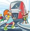 В учреждениях образования проходят уроки безопасности на железной дороге