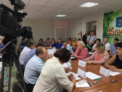 Рабочая встреча депутатов Законодательного Собрания в Усть-Илимском районе