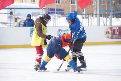 Хоккей - игра для сильных духом