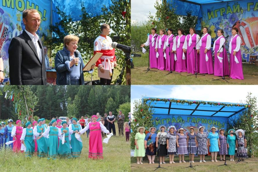 В Бунбуйском МО прошел фестиваль «Играй, гармонь!»