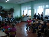 знакомство с народными инструментами (учебный корпус п.Тубинский)
