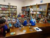 час Триколор цвета  флага  в Тубинской библиотеке