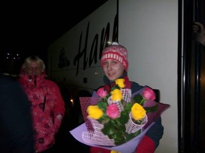 В родной Невон с чемпионским титулом