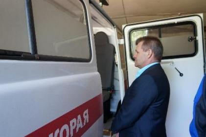 Тайшетский район получит пять автомобилей скорой помощи