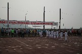 церемония открытия сельских игр Усть-Илимского района
