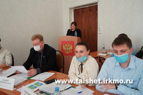 Депутаты Думы Тайшетского района  утвердили новые герб и флаг