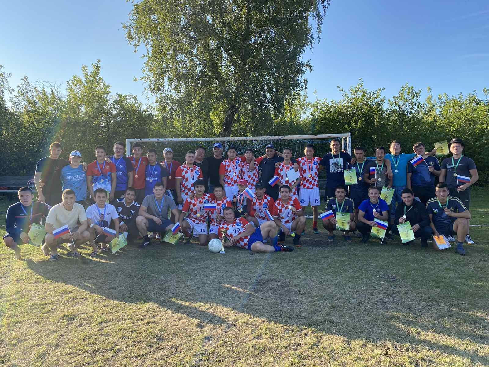 Традиционный турнир по футболу 7*7,  посвященный Дню Государственного флага Российской Федерации