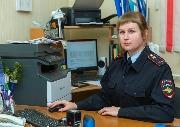 лейтенант полиции Шумкова Людмила Геннадьевна, старший дознаватель отделения дознания ОМВД России по Чунскому району