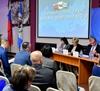 Валерий Тюменцев и главы МО – участники областного форума