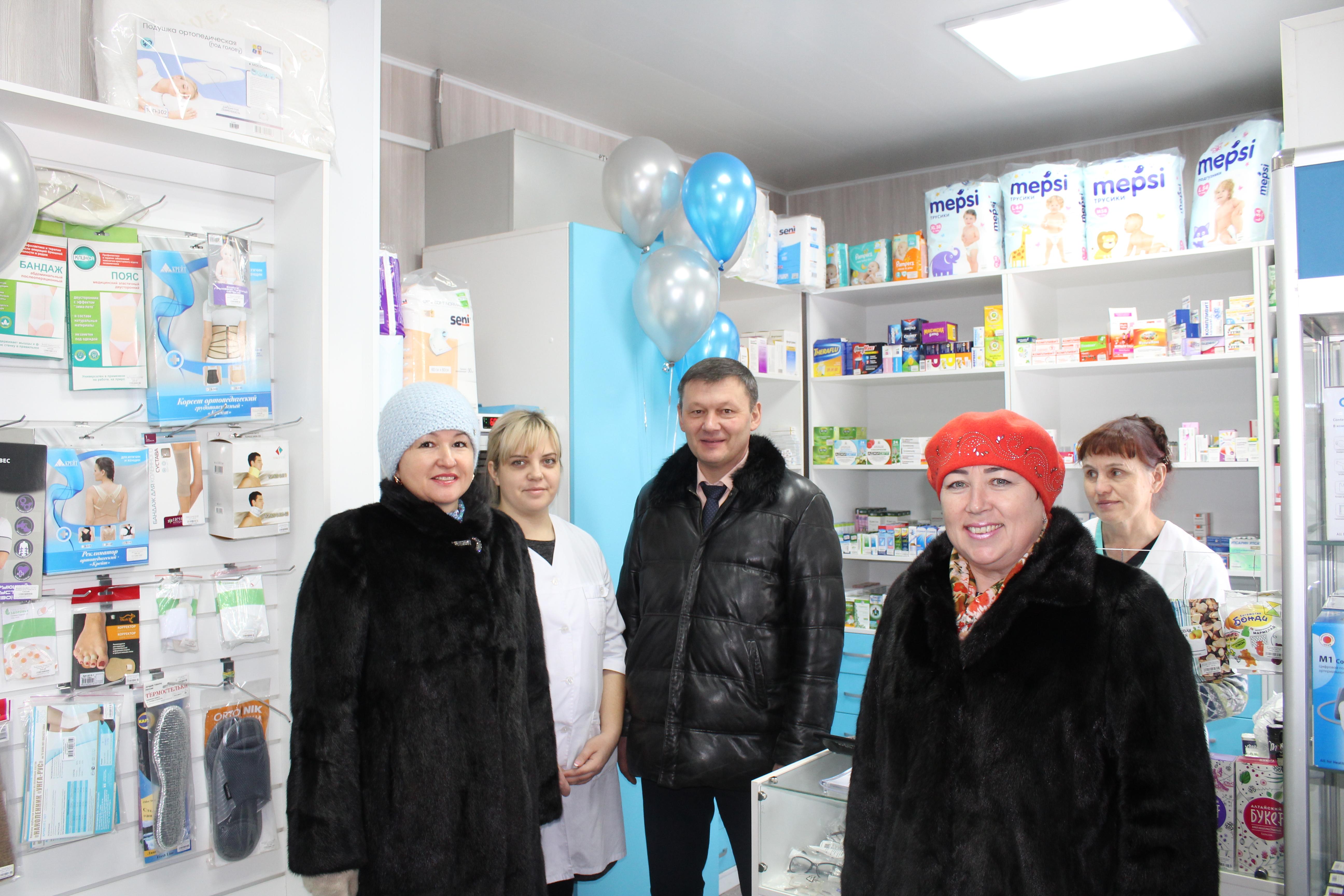 На территории больницы открылся новый аптечный пункт!