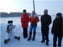 Конкурс снеговиков «Снеговик-2014»