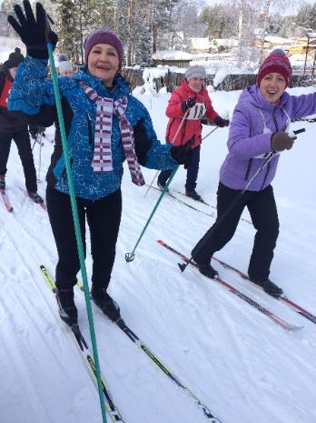 Открытие лыжного сезона в Невоне