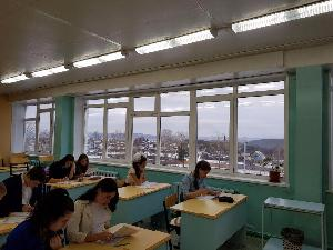Школьники из Железнодорожного писали этнографический диктант