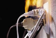 МЧС предупреждает: самые распространенные причины пожаров зимой – электротехнические!