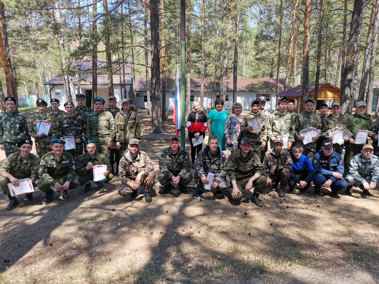 С 5 по 7 июня в лагере «Лена» прошли военно - полевые сборы 2021 года