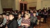 Жители п. Невон  на встрече с В. Забелло и В. Нефедьевым