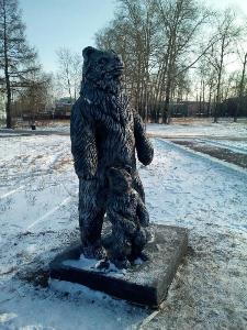 В Михайловке продолжается установка арт-объектов