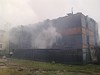 В п. Лесогорск за три дня произошло два пожара в жилом секторе, сгорел двухэтажный жилой дом
